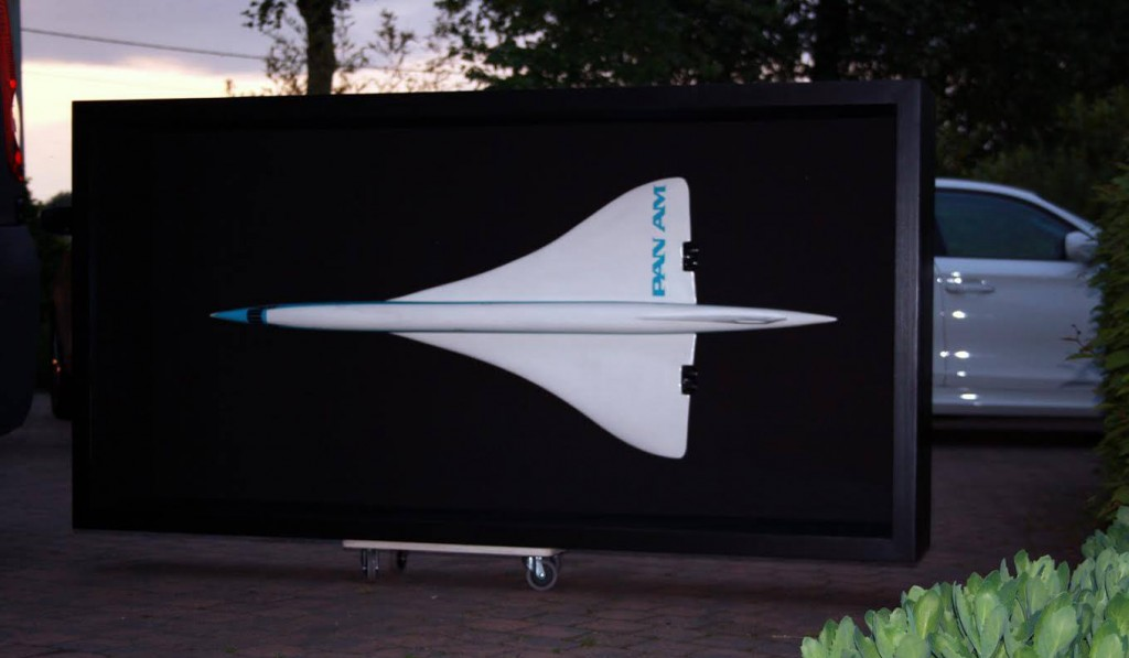 Pan Am modelvliegtuig