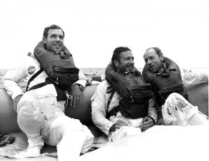 Apollo 15 crew. Links: David Scott